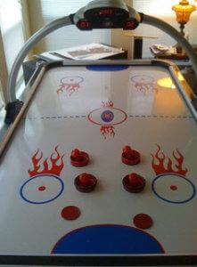 AirHockey Tisch kaufen Extras