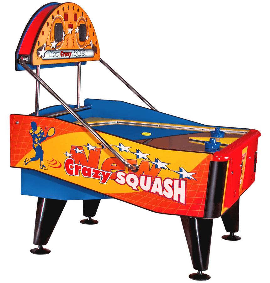 Airhockey, Crazy Squash